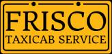 Frisco Taxi cab,Frisco Taxi,Yellow Cab,DFW Taxi cab service Logo